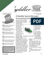 The Muddler - September 09