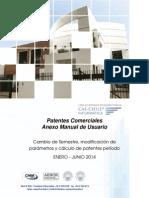 Cambio Parametros Patentes Comerciales 2014