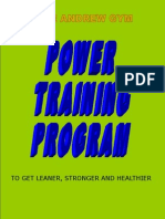 Andrew Gym Power Training Program