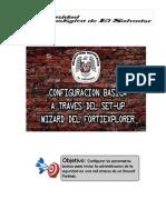 Guía de configuración básica a través del set