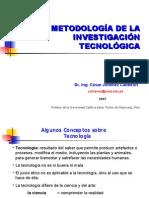 Metodologia de La Investigacion Tecnologica