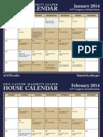 113th - House Calendar (2014) (Full)