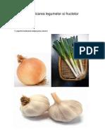 Clasificare legumelor si fructelor