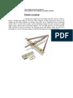 Artcl Pencil Crossbow
