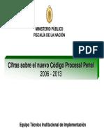 Cifras NCPP 2006-2013 MPFN