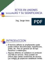 13defectos en Uniones Soldadas y Su Significancia