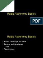 Radio Astronomy Basics-1