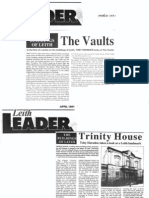 Leith Leader articles by Toby Harnden 1991
