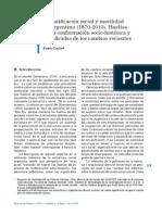 Dalle_Estratificación social y movilidad en Argentina