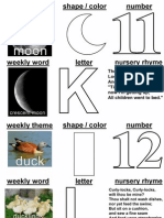 letter of the week 11-15