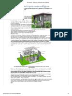 El Universal - - Mexicanos construyen casas ecológicas