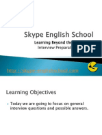 Business English Interview Questions 1