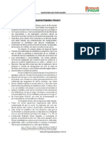 Simulado CESPE Língua Portuguesa (1)