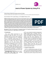 Stability Improvement of Power System Using Pi and Pd