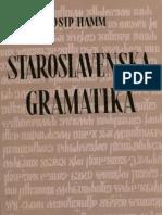 Josip Hamm - Staroslavenska gramatika