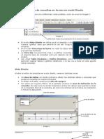 Diseño de consultas en Access en modo Diseño