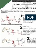Dinamica para la Creacion Redes (TIC de los 3 pasos)