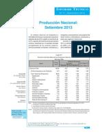 01 Produccion Nacional Setiembre 2013 1