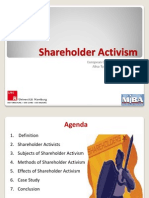 Shareholder Activism FINAL
