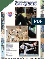 SMC Martial Arts Equipment Catalog 2010