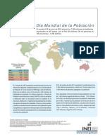 11 de julio dia Mundial de la Población - INEI 2012