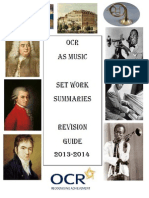 Set Work Revision Guide (2013-2014)