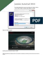 Como Instalar o AutoCad 2013