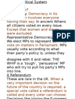 The UK Political System