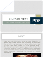 Kinds of Meat