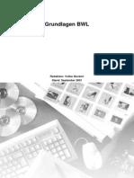 BWL Grundlagen