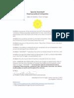 Special Assumpsit, Pharmaceutical Companies