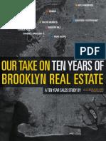 Aptsandlofts.com - Brooklyn Ten Year Sales Study