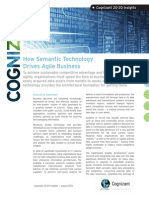 How Semantic Technology Drives Agile Business