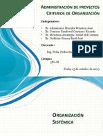Organizaciones