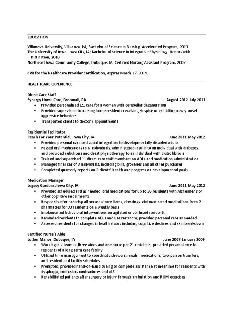 Resume for kiki iowa nursing xflitez Gallery