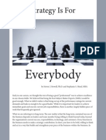 Strategy is for Everybody - Marketing PDF