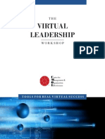 Virtual Leadership Workshop Brochure