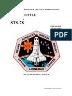 NASA Space Shuttle STS-78 Press Kit