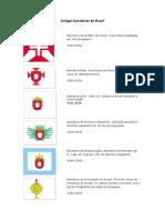 antigas bandeiras do brasil