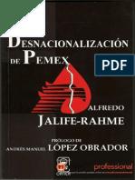 desnacionalización de pemex