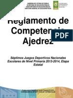 Reglamento de Competencia de Ajedrez 2012-2013