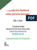 Alonso J a Nano Tubos