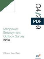 Manpower Employment Outlook Survey Q4 2009