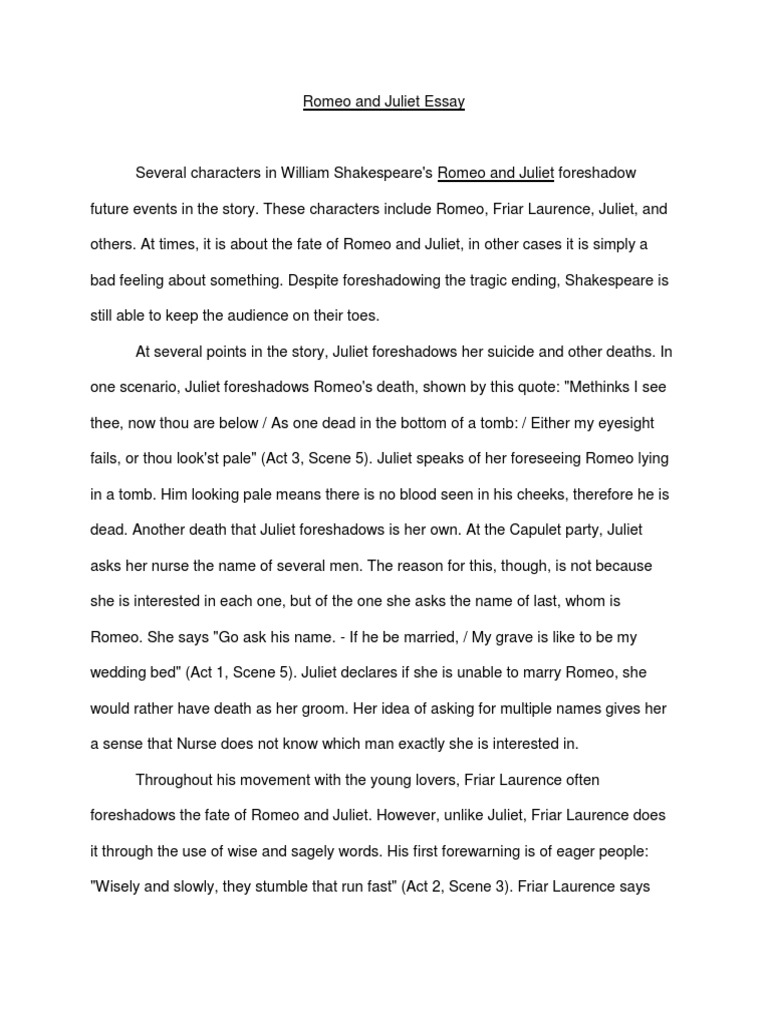 Fifth Business Essays  Essay About Paper also Simple Essays In English Romeo And Juliet  Characters In Romeo And Juliet  Juliet What Is A Thesis Statement In An Essay Examples