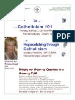 Catholicism 101 & Hopscotching thru Catholicism