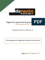 [PREVIEW NON COMPLETE] Rapport de stage de fin de première année - ducreu_a