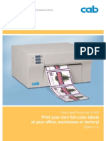 LX 800 Brochure