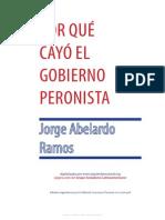 Jorge Abelardo Ramos - Por Que Cayo El Gobierno Peronista-12