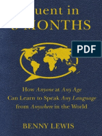 Fluent in 3 Months by Benny Lewis