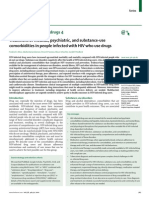 Treatment of Medical, Psychiatric, And Substance-use Comorbidities in People Infected With HIV Who Use Drugs